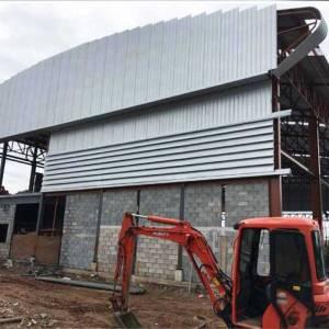 ก่อสร้างอาคารคลังสินค้า
