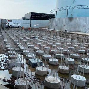 โครงการเข็มเจาะถังบำบัดน้ำเสีย